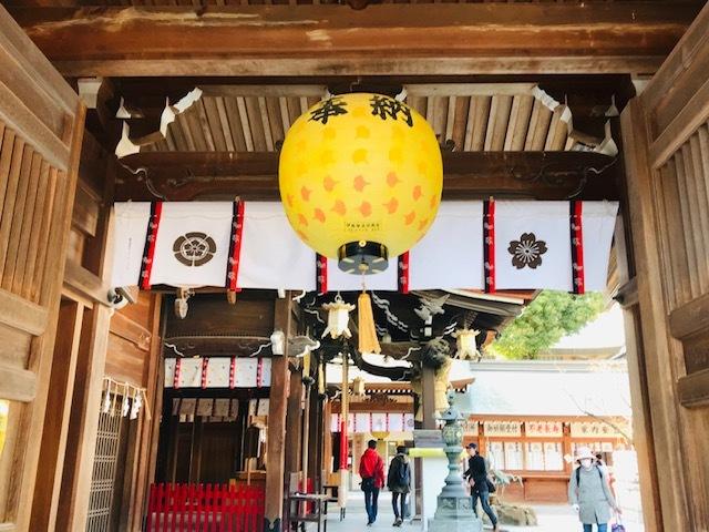 福岡博多日帰りの旅後半。@天神。警固神社。櫛田神社。中州。_a0050302_22200255.jpg