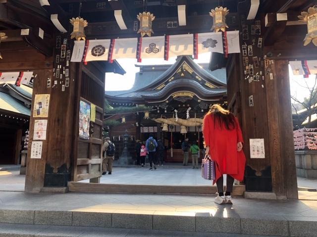 福岡博多日帰りの旅後半。@天神。警固神社。櫛田神社。中州。_a0050302_22221706.jpg