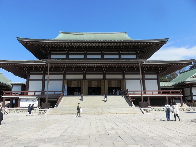 大本堂と三重塔(成田山新勝寺⑥)_c0187004_12302238.jpg