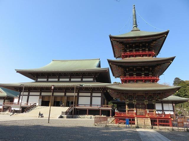 大本堂と三重塔(成田山新勝寺⑥)_c0187004_12314534.jpg