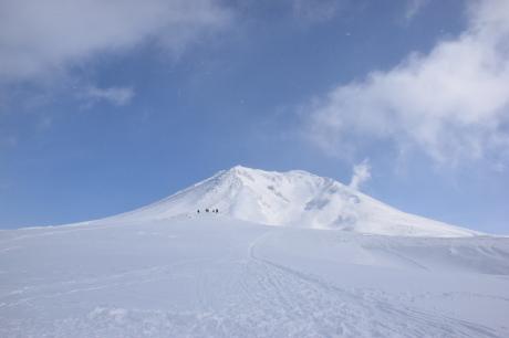 2019年2月3日快晴の大雪山旭岳で粉雪と戯れる_c0242406_09122859.jpg