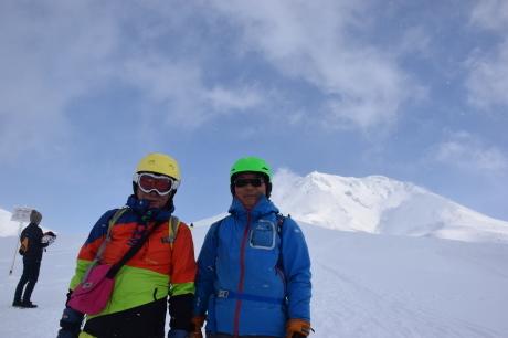 2019年2月3日快晴の大雪山旭岳で粉雪と戯れる_c0242406_09125230.jpg
