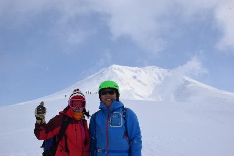 2019年2月3日快晴の大雪山旭岳で粉雪と戯れる_c0242406_09132105.jpg