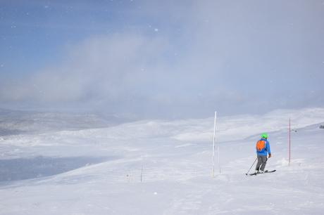 2019年2月3日快晴の大雪山旭岳で粉雪と戯れる_c0242406_09135495.jpg