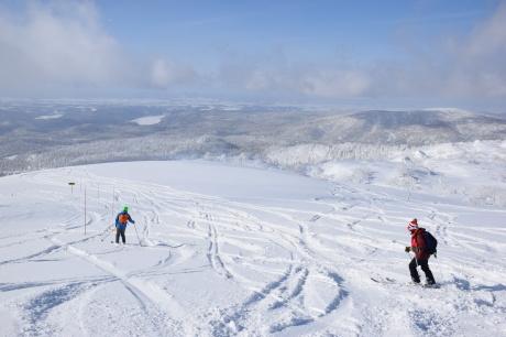 2019年2月3日快晴の大雪山旭岳で粉雪と戯れる_c0242406_09141963.jpg