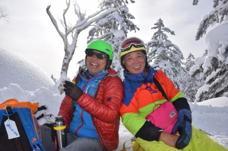 2019年2月3日快晴の大雪山旭岳で粉雪と戯れる_c0242406_10041342.jpg