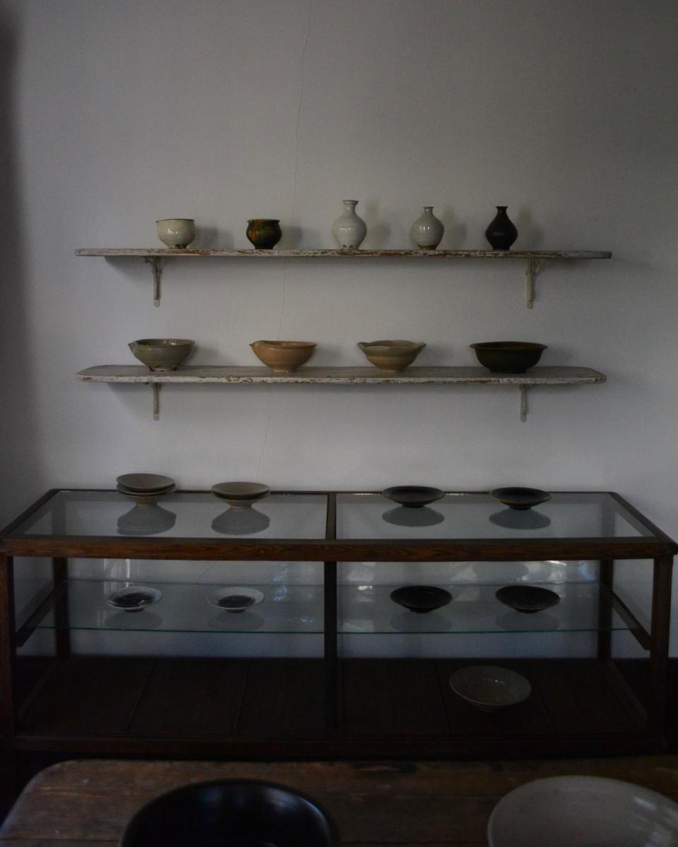 「古谷宣幸 展  天目茶盌と食の器」 5日目_d0087761_17164552.jpg