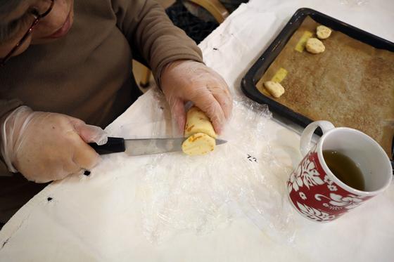 パンレク ~ マーマレードチーズクッキー ~_e0222340_1913086.jpg
