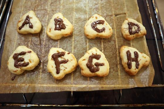 パンレク ~ マーマレードチーズクッキー ~_e0222340_19264464.jpg