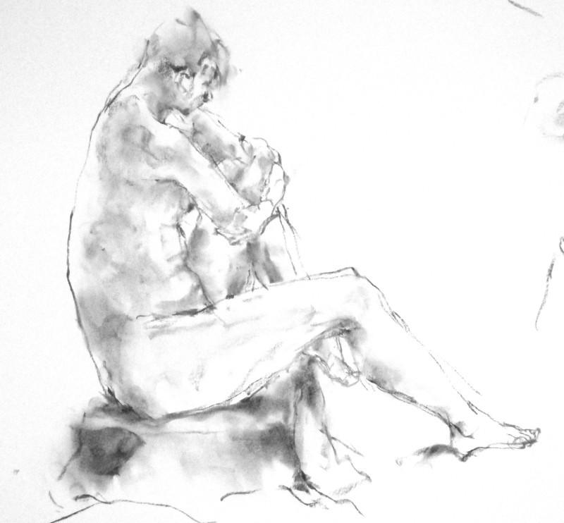 《 弥生三月裸婦素描 5 》_f0159856_02021136.jpg
