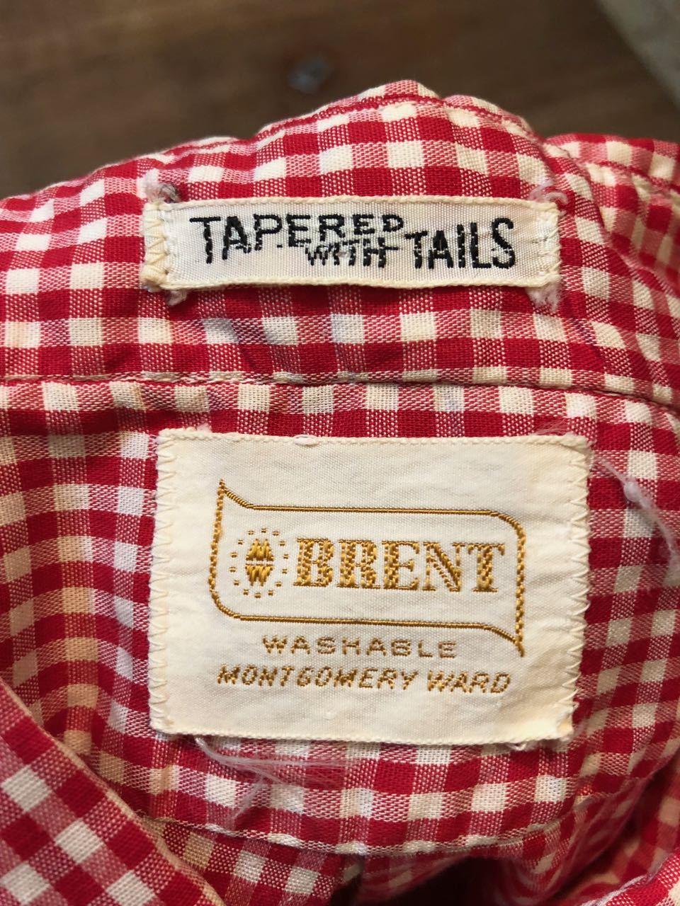 春物大量入荷!3月16日(土)入荷!月16日(土)入荷! 60s all cotton Brent ギンガムチェック B.D シャツ!_c0144020_13523461.jpg