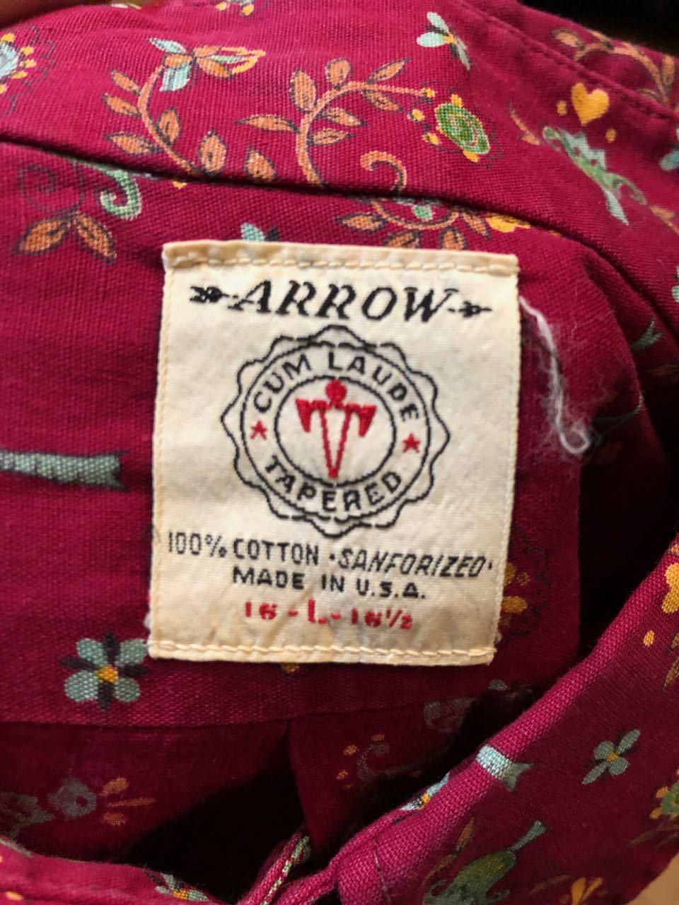 春物大量入荷!3月16日(土)入荷!60s all cotton !Arrow B.D シャツ!_c0144020_14095624.jpg