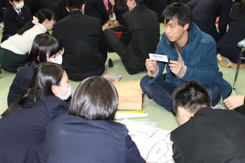 五泉高校においてワークショップを行いました。その2_c0167632_17012650.jpg