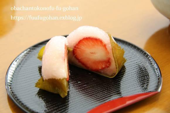 ホワイトデーの桜餅&おばちゃんは、なんてついてないんやろ~(>_<)_c0326245_10235453.jpg