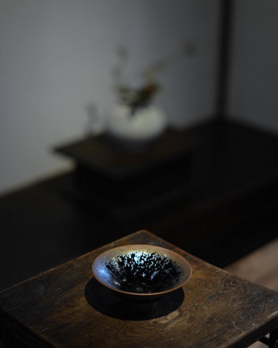 「古谷宣幸 展  天目茶盌と食の器」 7日目_d0087761_1734339.jpg