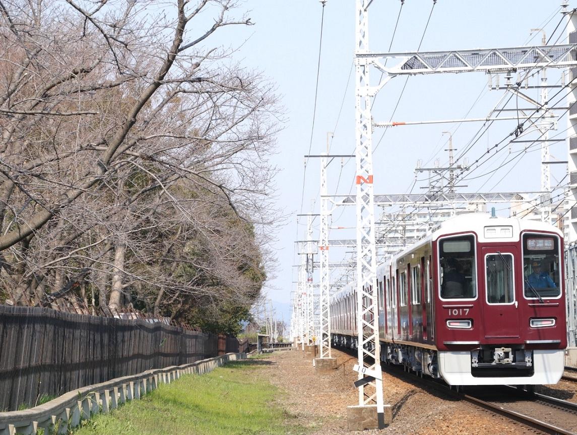 阪急1017F 新造車両試運転 _d0202264_1810261.jpg