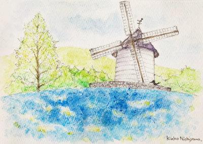 子どもたちの風景画教室_f0043592_22234040.jpg