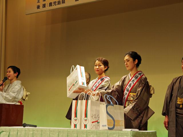 大島紬と鹿児島の食を楽しむ夕べ 出務御報告/中谷_c0315907_11101109.jpg