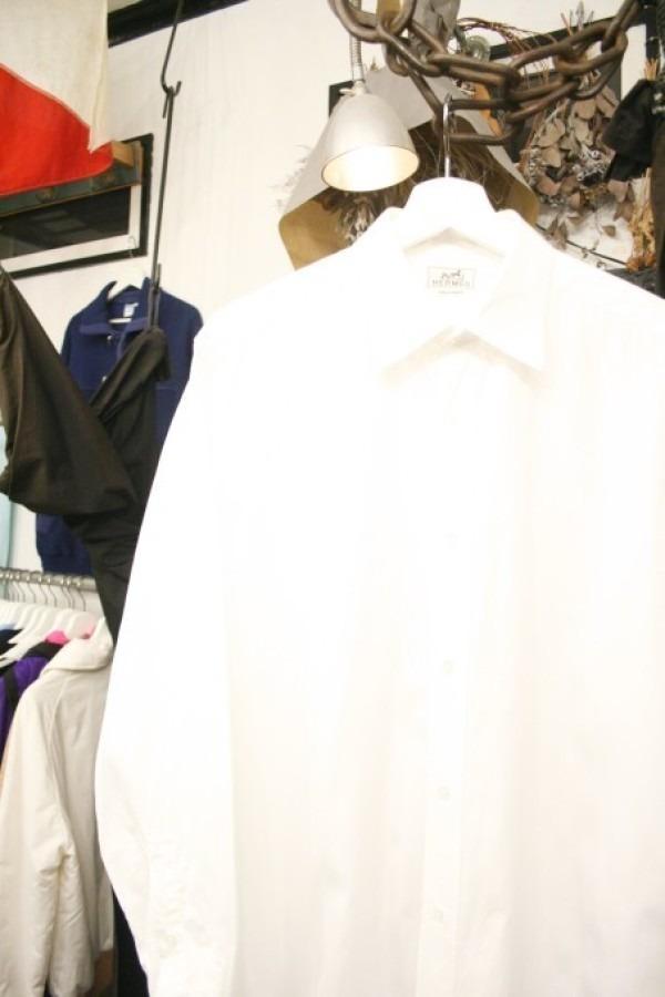 遅くなっちゃったので商品紹介だけ。入荷HERMES/エルメス。メンズ。シャツ、ジャケット、ボトムス_f0180307_00244130.jpg