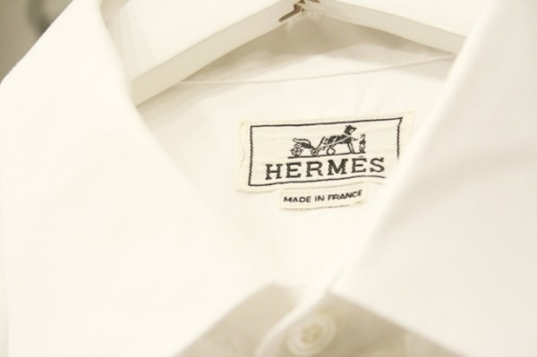 遅くなっちゃったので商品紹介だけ。入荷HERMES/エルメス。メンズ。シャツ、ジャケット、ボトムス_f0180307_00244221.jpg