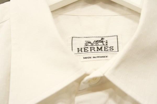 遅くなっちゃったので商品紹介だけ。入荷HERMES/エルメス。メンズ。シャツ、ジャケット、ボトムス_f0180307_00252545.jpg