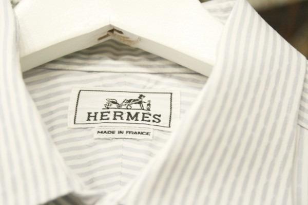 遅くなっちゃったので商品紹介だけ。入荷HERMES/エルメス。メンズ。シャツ、ジャケット、ボトムス_f0180307_00271649.jpg