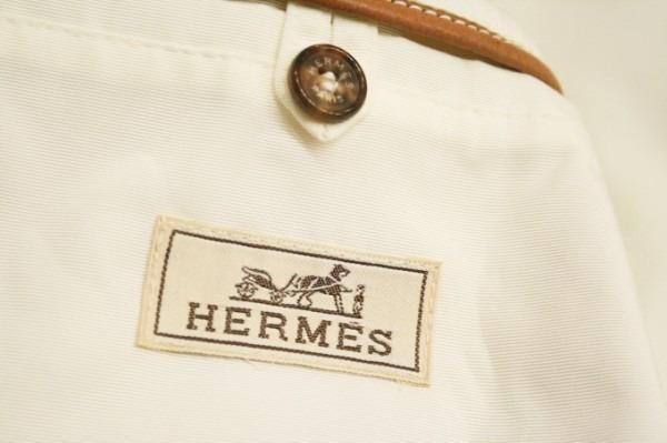 遅くなっちゃったので商品紹介だけ。入荷HERMES/エルメス。メンズ。シャツ、ジャケット、ボトムス_f0180307_00302045.jpg