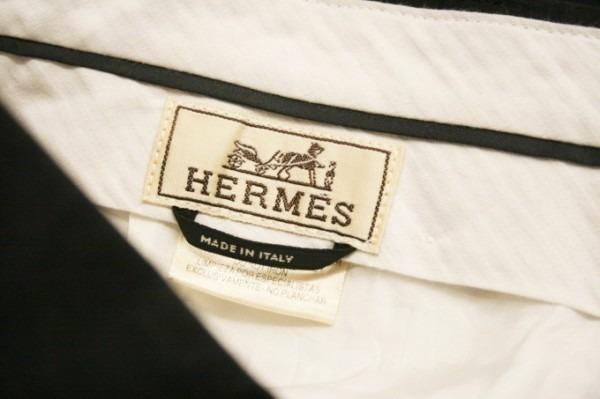 遅くなっちゃったので商品紹介だけ。入荷HERMES/エルメス。メンズ。シャツ、ジャケット、ボトムス_f0180307_00385300.jpg