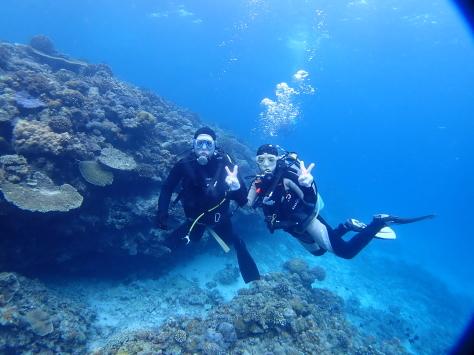3月15日水納島ダイビング&ホエールウォッチング_c0070933_08513590.jpg