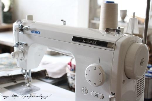 新しい職業用ミシン『JUKI SL-700EX』厚地縫いも新機能も感動この上ないです!_f0023333_22081920.jpg