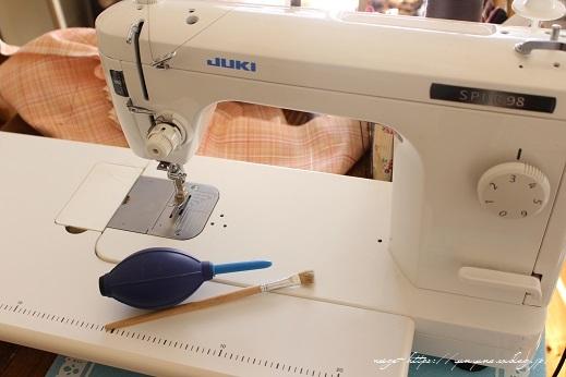 新しい職業用ミシン『JUKI SL-700EX』厚地縫いも新機能も感動この上ないです!_f0023333_22175975.jpg