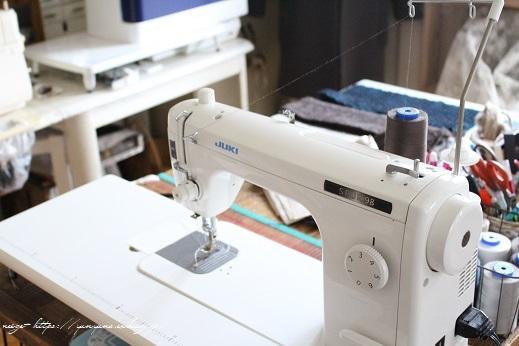 新しい職業用ミシン『JUKI SL-700EX』厚地縫いも新機能も感動この上ないです!_f0023333_22180691.jpg