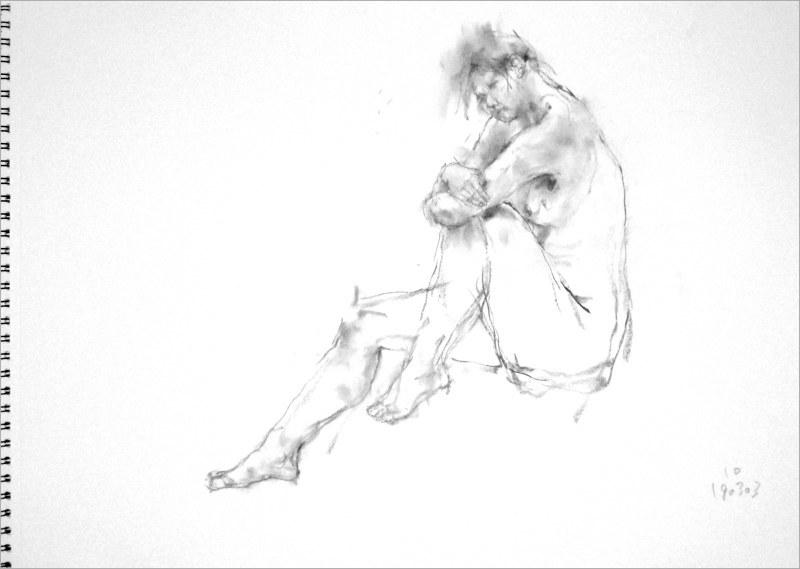 《 弥生三月裸婦素描 6 》_f0159856_09465283.jpg