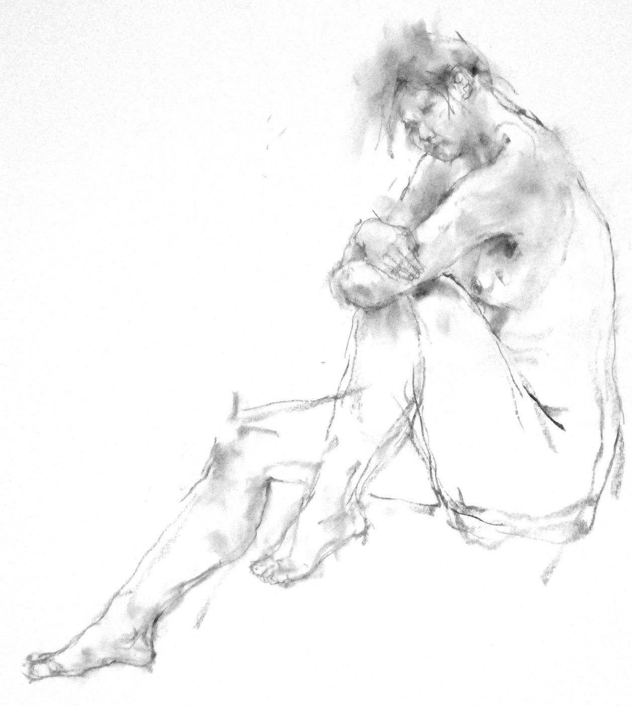 《 弥生三月裸婦素描 6 》_f0159856_09485812.jpg