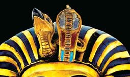 1エジプトシンボル ツタンカーメンの蛇形記章とハゲワシ_c0222861_16263651.jpg