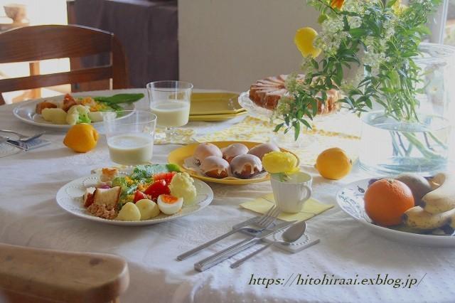 ニース風サラダでランチでイエローの食卓_f0374092_15270020.jpg