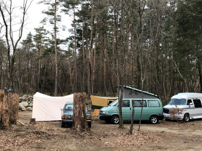Camp  / 晴れのち雪 直火キャンプ_b0195093_15044890.jpg