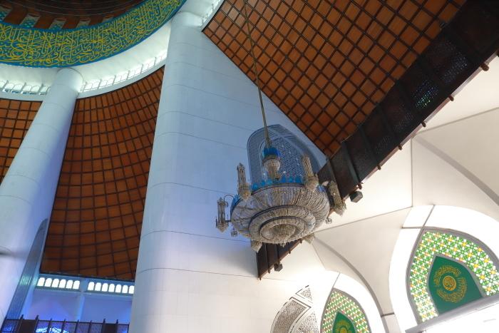 【スルタン・サラフディン・アブドゥル・アジズ・シャー・モスク】マレーシア旅行 - 15 -_f0348831_18323425.jpg