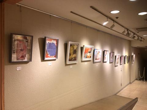 市美展、久間清喜展、嶋田純子小品展を見た日_e0193561_22414983.jpg