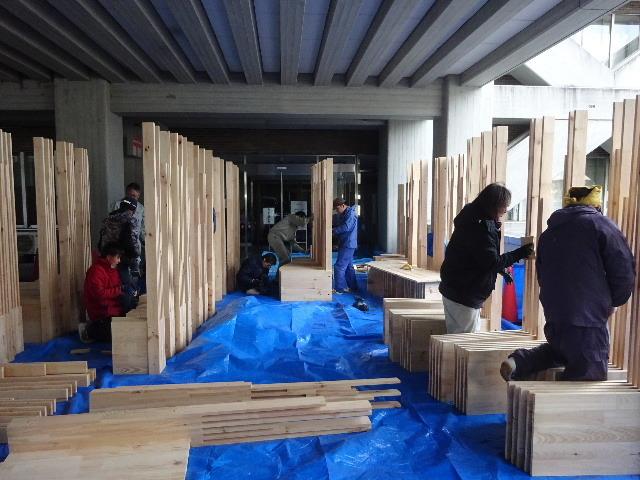 岩手県庁6階 木質化実証実験 ①_f0105112_04435725.jpg