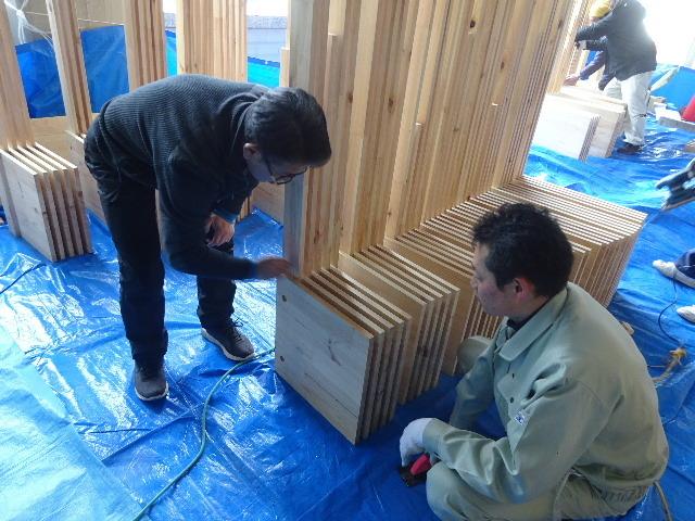 岩手県庁6階 木質化実証実験 ①_f0105112_04435769.jpg