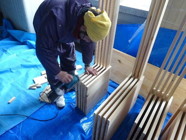 岩手県庁6階 木質化実証実験 ①_f0105112_04435771.jpg