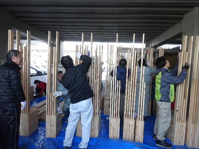 岩手県庁6階 木質化実証実験 ①_f0105112_04514933.jpg