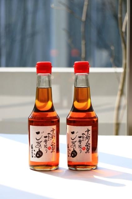日本が誇る、香ばしく豊かな香りのごま油_c0199544_13424595.jpg