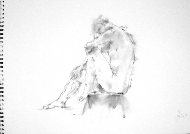 《 弥生三月裸婦素描 7 》_f0159856_07442838.jpg