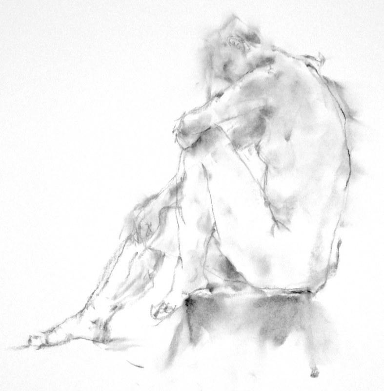 《 弥生三月裸婦素描 7 》_f0159856_07444419.jpg