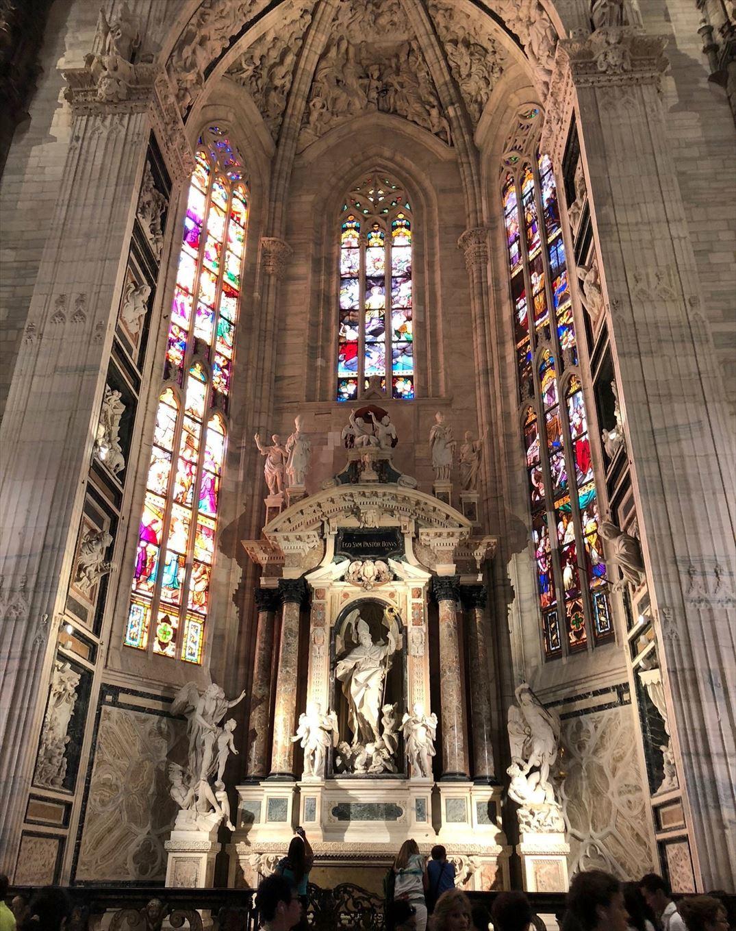 シチリア/44  荘厳なミラノ大聖堂 Ⅱ_a0092659_15491521.jpg
