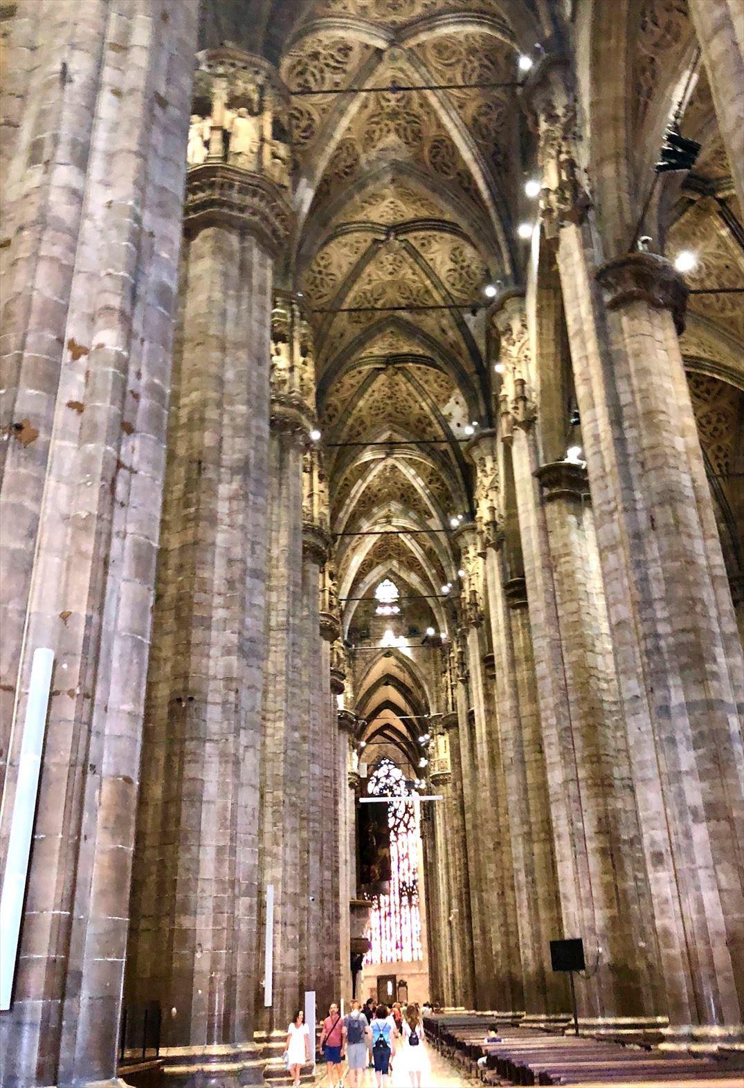シチリア/44  荘厳なミラノ大聖堂 Ⅱ_a0092659_18032962.jpg