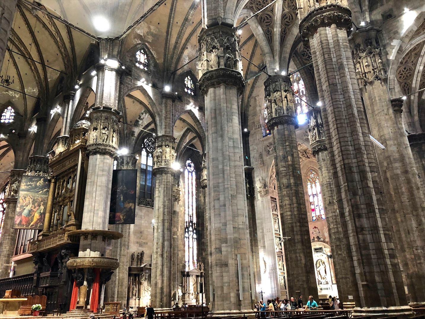 シチリア/44  荘厳なミラノ大聖堂 Ⅱ_a0092659_18385930.jpg