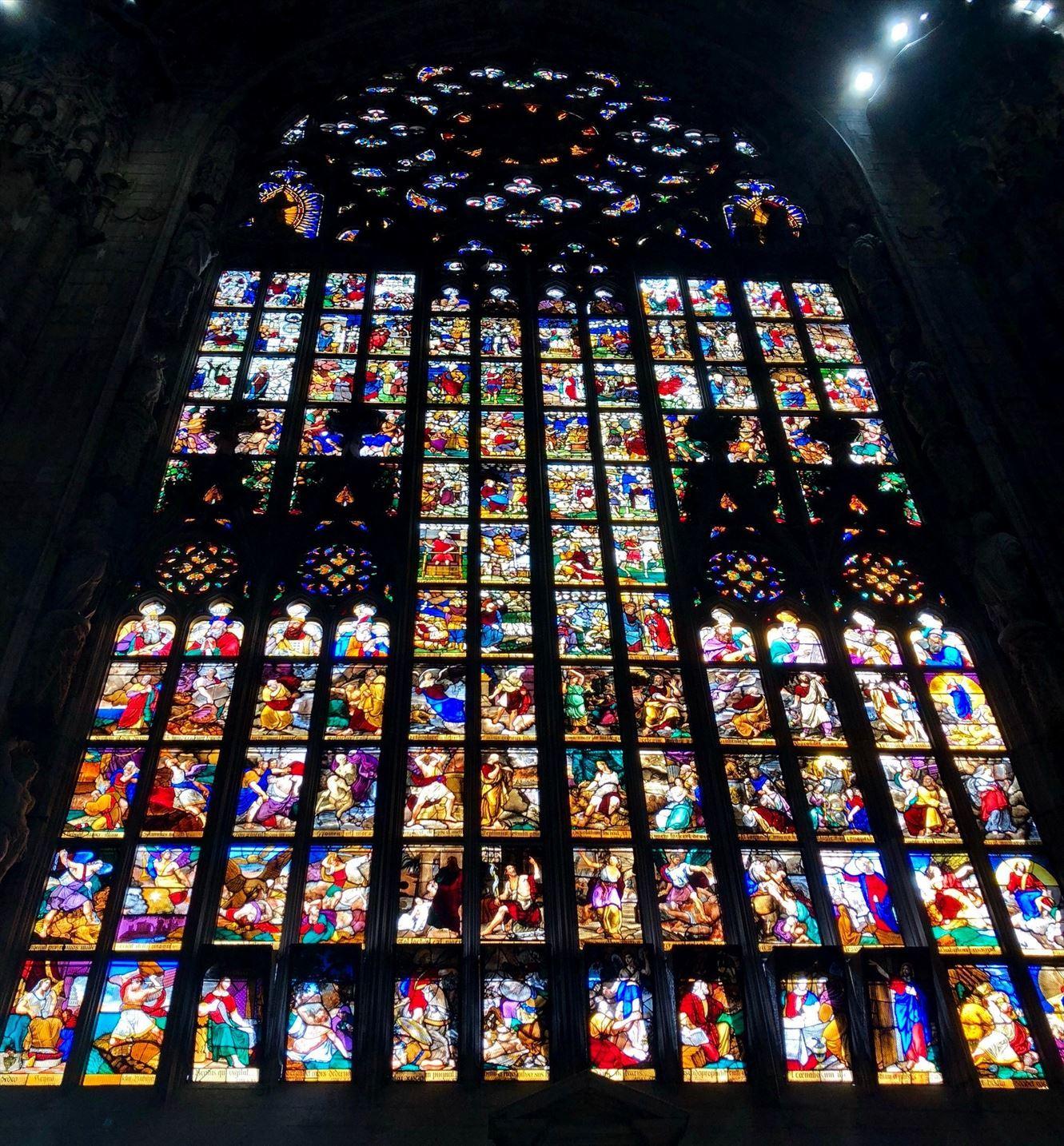 シチリア/44  荘厳なミラノ大聖堂 Ⅱ_a0092659_18545563.jpg